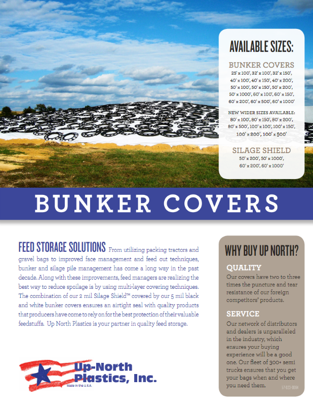 Up-North Bunker Covers